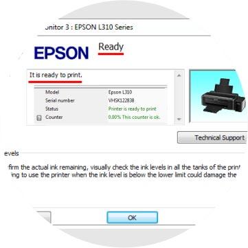 Epson Adjustment Program Troubleshoot - Baromishal