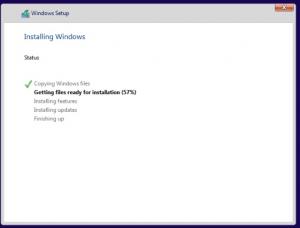 Windows Install start