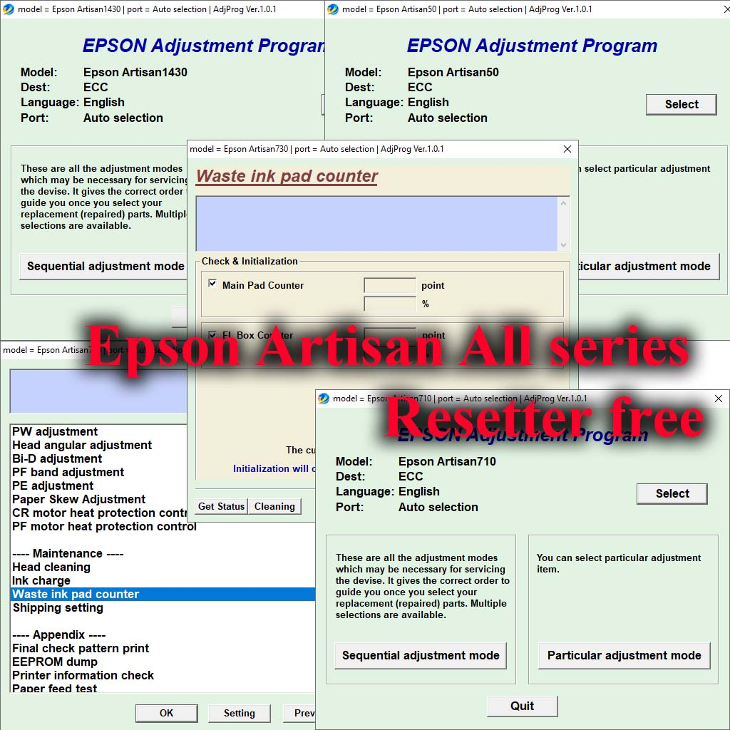 Epson L3110 Adjustment Program Free download 100% Work