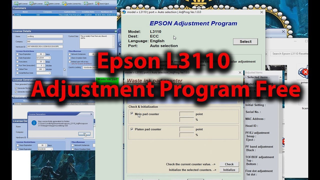 Free Epson L3110
