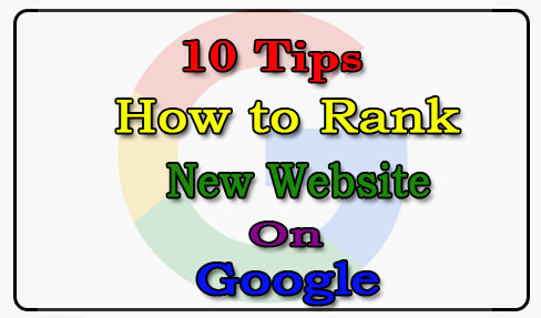 Rank New Website on Google