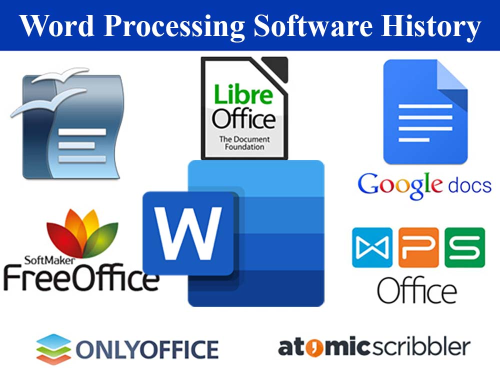 Word processing history