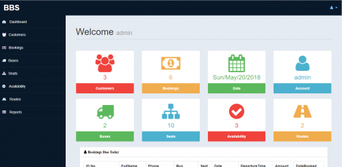 Online Bus Booking System