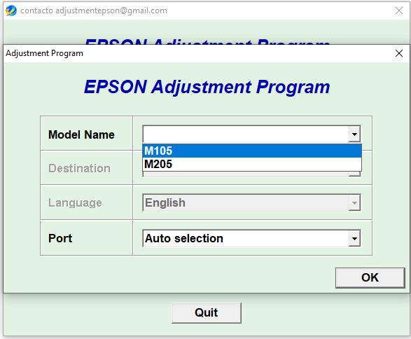 Epson L105 L205