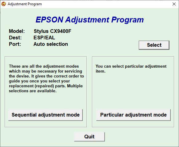 Epson CX9400f