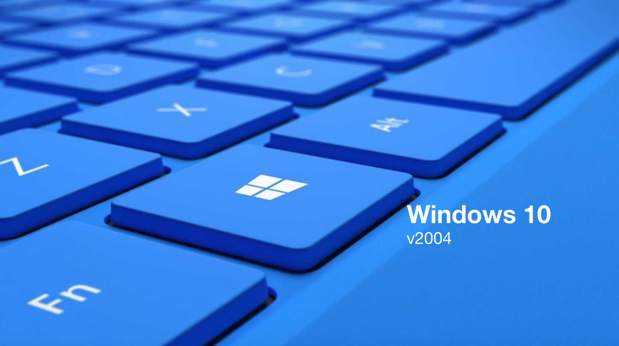 Windows 10 update version 2004 iso download