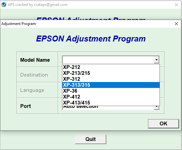 Epson XP36