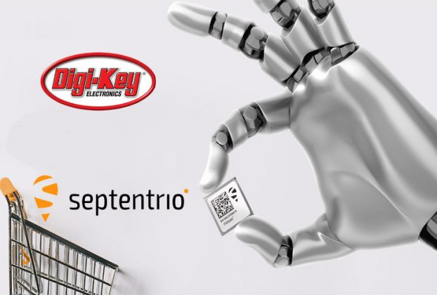 Digi-Key Electronics Announces Global Distribution Partnership with Septentrio