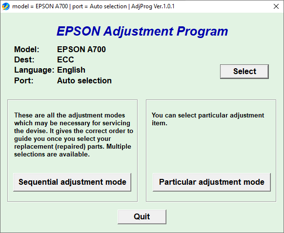 Epson A700