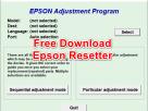 Free Download Resetter Epson Adjustment Program L Series