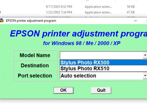 Epson RX500