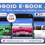 Android EBook App (Books App, PDF, ePub, Online Book Reading, Download Books)
