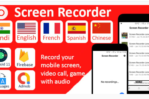 Screen Recorder Pro with Audio