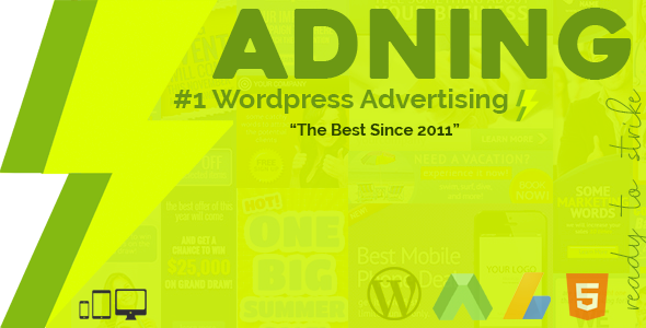 adning advertising all in one ad manager