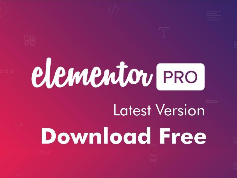 Elementor Pro v3.3.0 Latest Version Premium WordPress Plugin Free Download